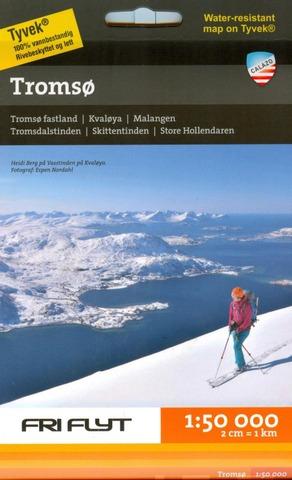 Tromsö-Tunturihiihtokartta