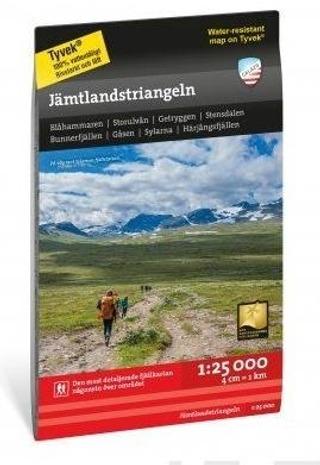 Jämtlandstriangeln -Retkeilykartta