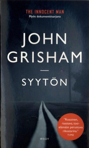 Grisham, John: Syytön pokkari