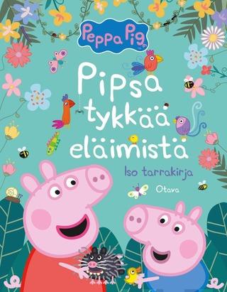 Pipsa Tykkää Eläimistä - Iso Tarrakirja