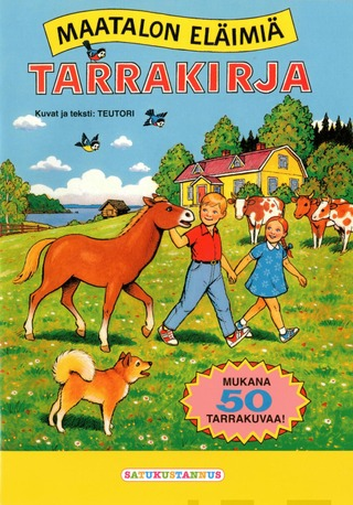 Maatalon Eläimiä - Tarrakirja