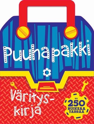 Gummerus Heli Venhola (Suom.): Puuhapakki - Värityskirja