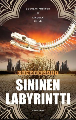 Preston, Child, Sininen Labyrintti