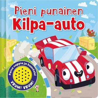Pieni Punainen Kilpa-Auto - Yhden Ääninapin Äänikirja