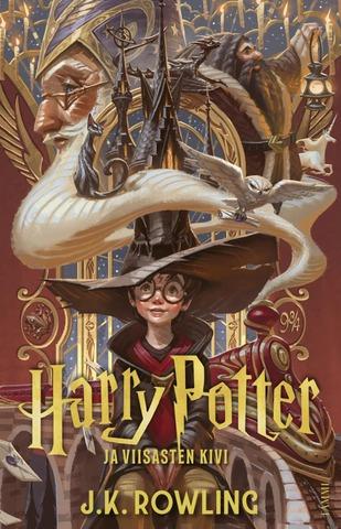 Harry Potter Viisasten kivi jättipokkari