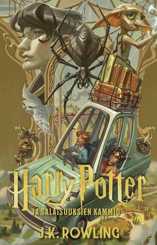 Harry Potter Salaisuuksien kammio jättip