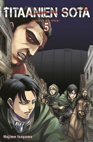 Tammi Hajime Isayama: Titaanien sota 5
