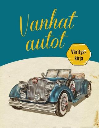Vanhat Autot Värityskirja