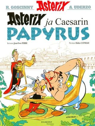 Egmont Jean-Yves Ferri: Asterix Ja Caesarin Papyrus