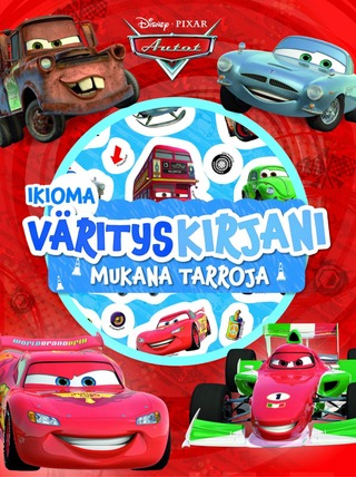 Disney Autot Ikioma Värityskirjani