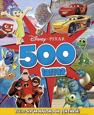 Disney Pixar Puuhakirja 500 Tarraa