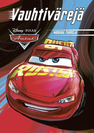 Disney Autot Värityskirja