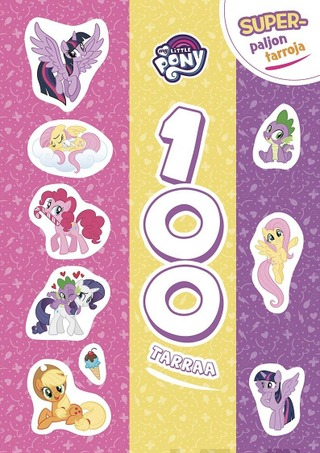 My Little Pony 100 Tarraa Puuhakirja