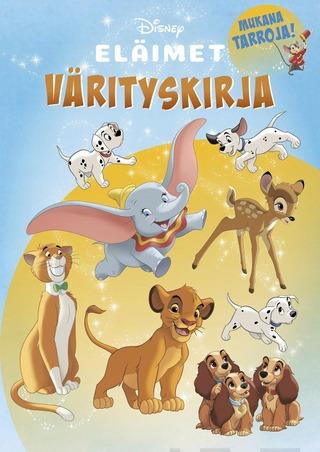 Disney Klassikot Eläimet Värityskirja