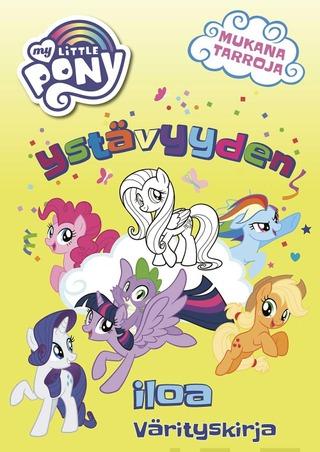 My Little Pony Ystävyyden Iloa Värityskirja