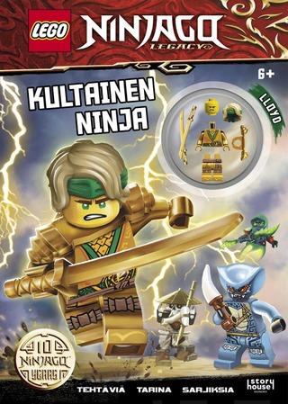 Lego Ninjago Legacy Kultainen Ninja -Puuhakirja