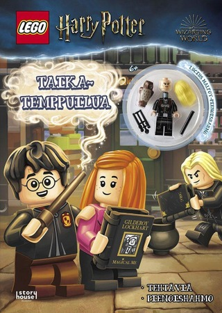 Lego Harry Potter Taikatemppuilua -Puuhakirja + Lelu