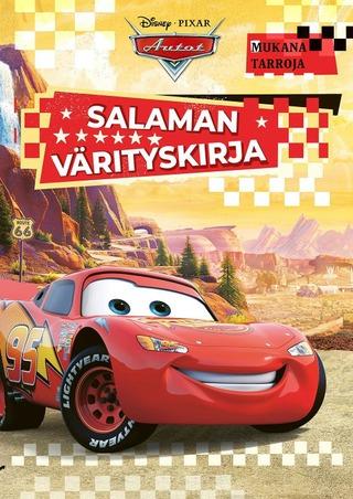 Disney Autot Salaman Värityskirja
