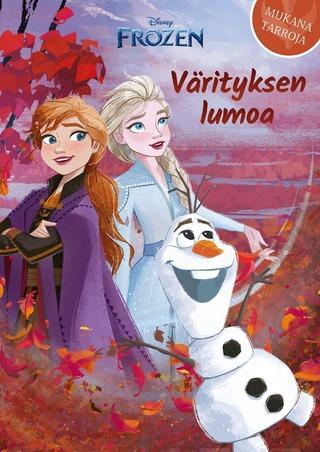 Disney Frozen Värityksen Lumoa -Värityskirja