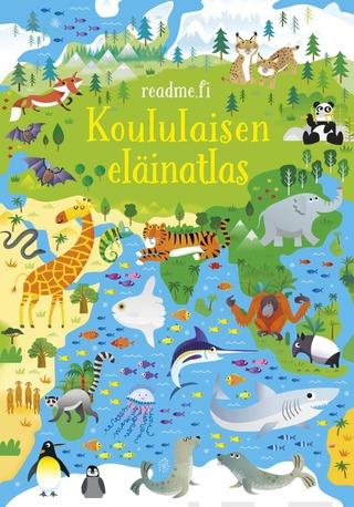 Koululaisen Eläinatlas Kirja Ja Palapeli