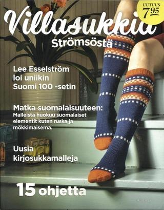 Villasukkia Strömsöstä kirja