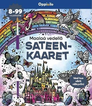 Maalaa Vedellä Sateenkaaret -Puuhakirja 8-99 V