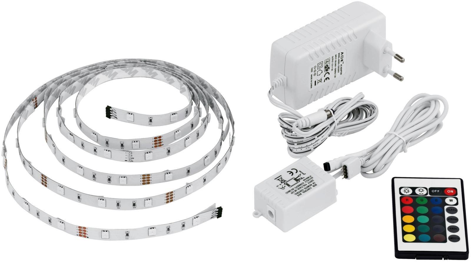 LED-valonauhan avulla valaiset tilat niin sisällä kuin ulkonakin